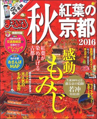 秋紅葉の京都2016表紙(テカリ抜き)